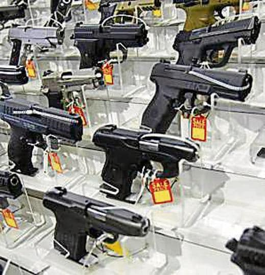 The bill proposes to expand federal background checks to online buyers firearms and at gun shows, that are currently not covered.
