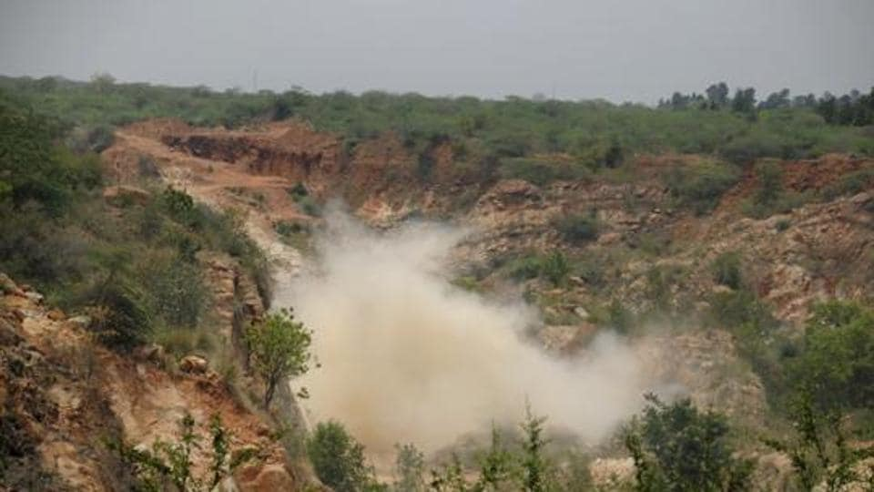 Under the amended PLPA, around 38 villages and 17,000 acres of Aravali land in Gurgaon, and 17 villages and 10,450 acres of the  Aravalis in Faridabad,  will be exposed to quarrying and real estate development.