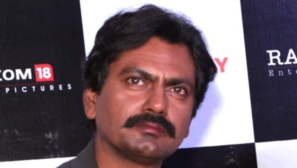 Nawazuddin Siddiqui at a press conference to promote his film Thackeray in January 2019.