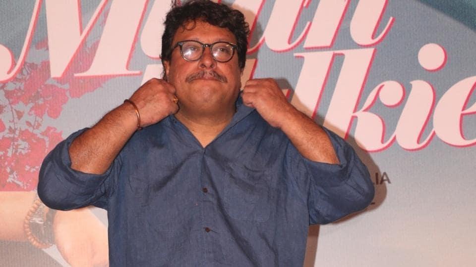 Director Tigmanshu Dhulia at the trailer launch of his upcoming film Milan Talkies in Mumbai.