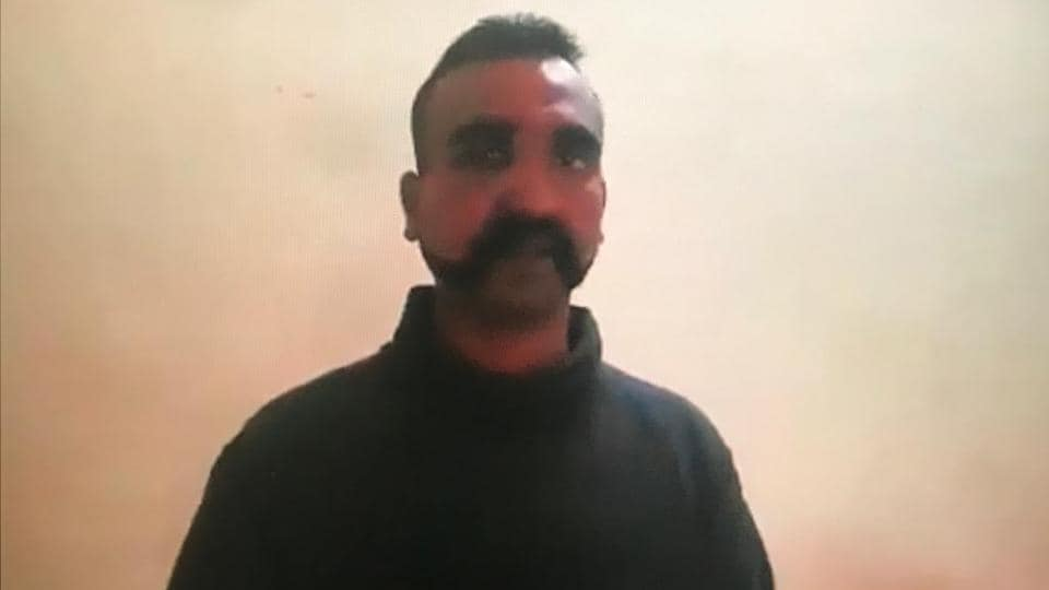 "Indian Air Force (IAF) Wing Commander Abhinandan Varthaman has been in Pakistan Army's custody after his MiG-21 Bison aircraft was hit during an engagement with Pakistani jets that had violated Indian airspace in Jammu and Kashmir on Wednesday. The IAF has expressed happiness over his repatriation to India, possibly at Wagah, with Air Vice Marshal RGK Kapoor calling it ""a gesture in consonance with the Geneva conventions."" (Video Grab)"