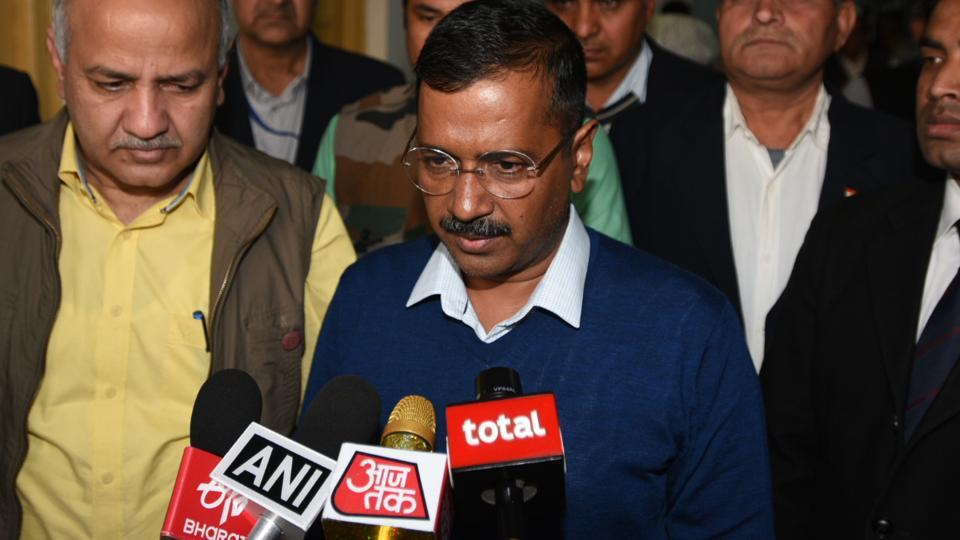Delhi chief minister Arvind Kejriwal on Thursday criticised Prime Minister Narendra Modi for holding a mega cadre meeting of the Bharatiya Janata Party (BJP) amid the heightened tension with Pakistan.
