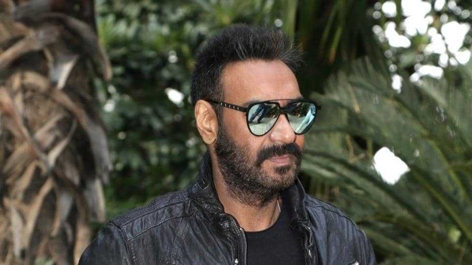 Ajay Devgn at the promotional interview of his upcoming film Total Dhamaal in New Delhi.