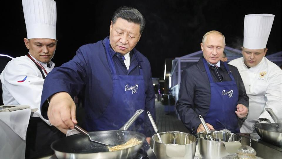 """In the interest of their """"national champions,"""" both the Russian and Chinese governments now seem to be pursuing policies they might not have chosen otherwise."""