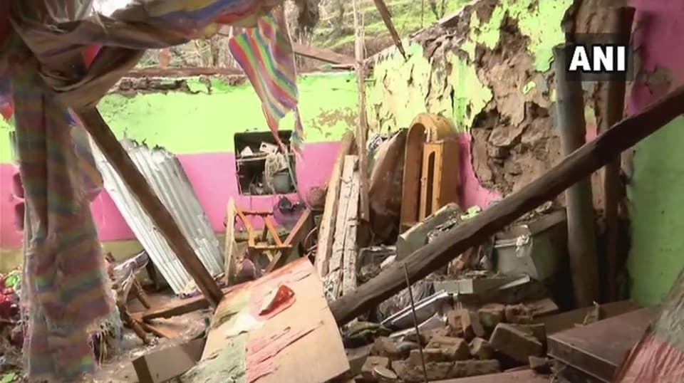 Three members of a family were killed in shelling by Pakistan in Poonch district  Friday night.