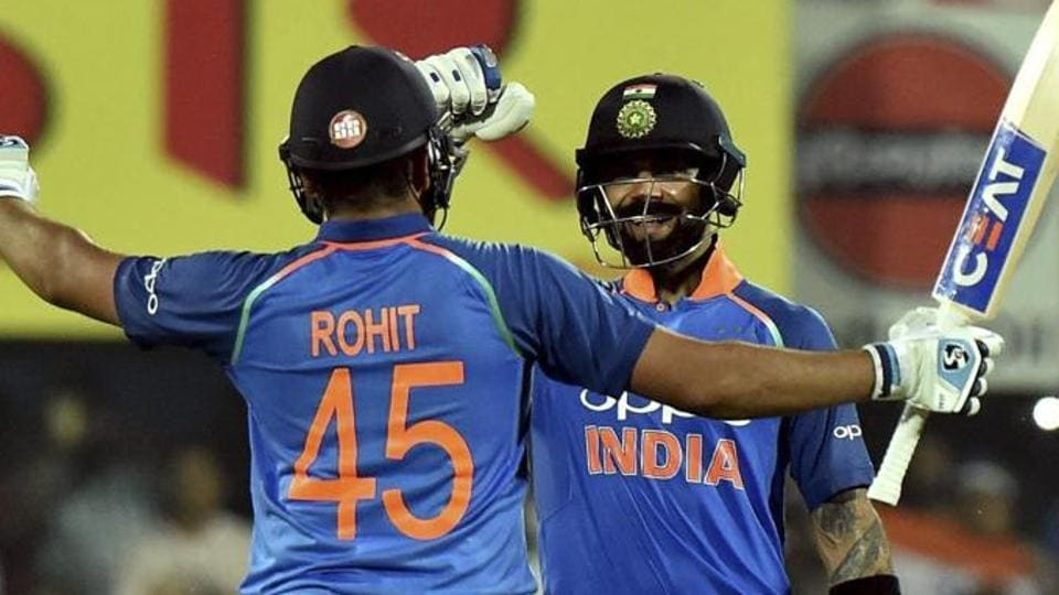 File image of Rohit Sharma and Virat Kohli.