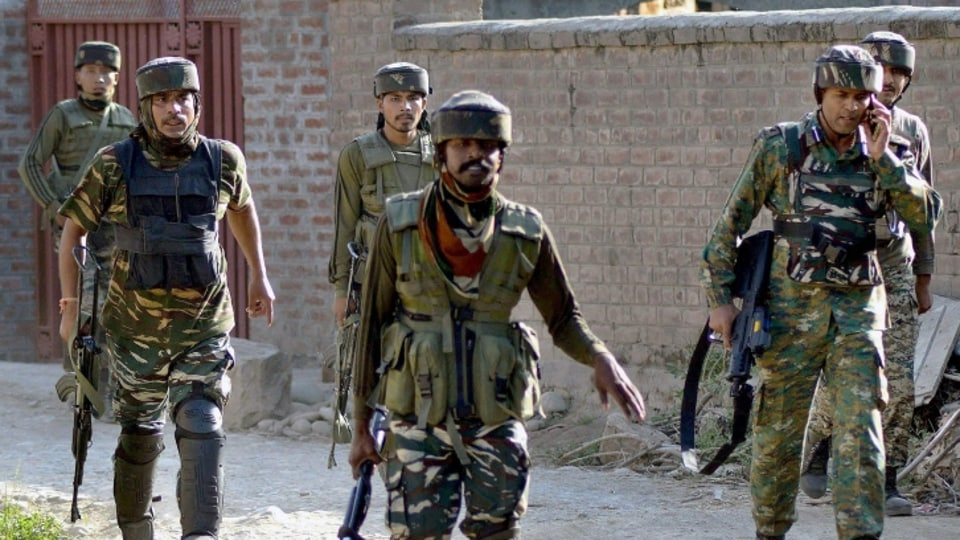 Earlier, four security personnel - two policemen and two CRPF jawans - had lost their lives on Friday in the encounter, which is now in its third day. Two Army jawans were also reported to have been killed in the encounter.