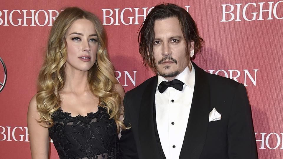 Johnny Depp slaps USD 50 million defamation suit against ex-wife Amber Heard for accusing him of domestic violence