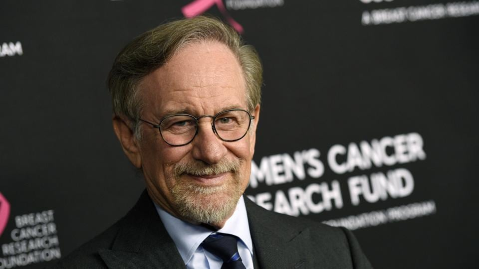 Filmmaker Steven Spielberg poses at the 2019 An Unforgettable Evening benefiting the Women's Cancer Research Fund, at the Beverly Wilshire Hotel, Thursday, Feb. 28, 2019, in Beverly Hills, Calif.