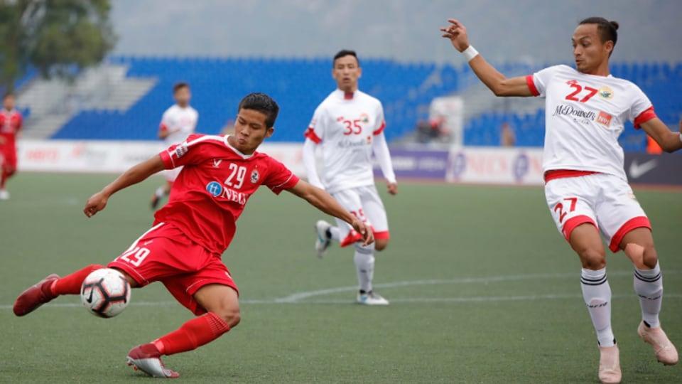 Ansumanah Kromah,Shillong Lajong,Aizawl FC