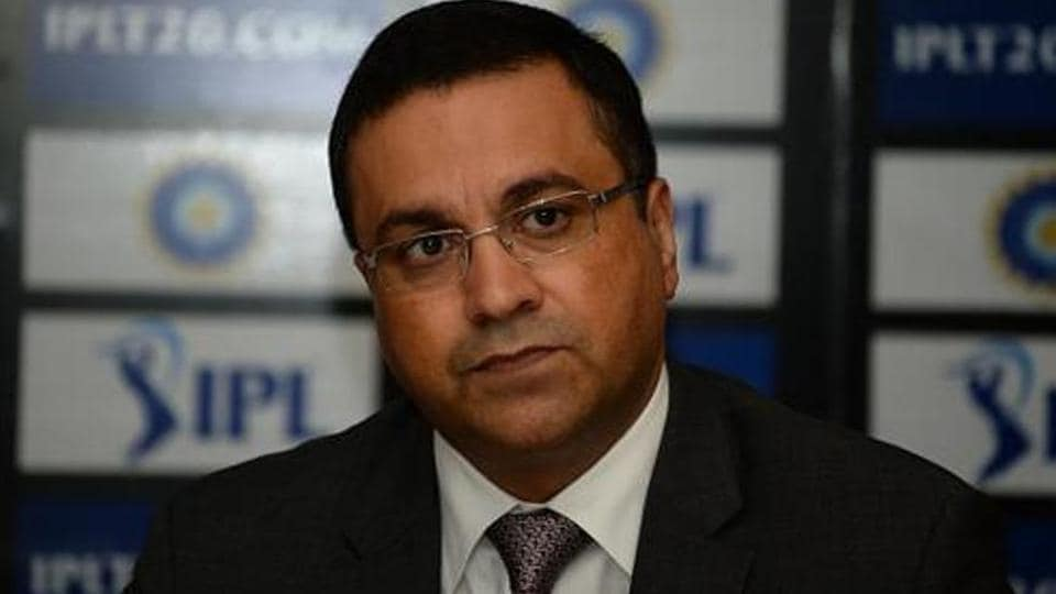 Rahul Johri looks on as he speaks during a press conference in New Delhi.