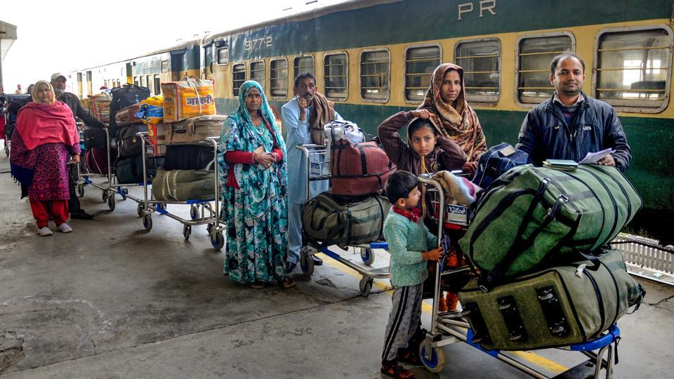 Pakistani authorities on Monday restored the Samjhauta Express services between Lahore and Delhi, days after the train was suspended due to tense bilateral ties. The train departs on Monday and Thursday from Lahore. The Samjhauta Express carrying some 150 passengers left Lahore railway station for India, Radio Pakistan reported. (PTI File)
