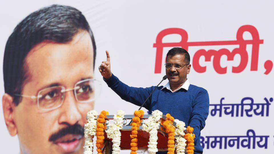 Delhi Chief Minister Arvind Kejriwal Monday said BJP president Amit Shah took a stand contradictory to that of the armed forces over the number of terrorists killed in the Balakot attack.