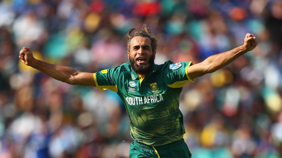 1st ODI: Veteran Imran Tahir keeps Sri Lanka in check