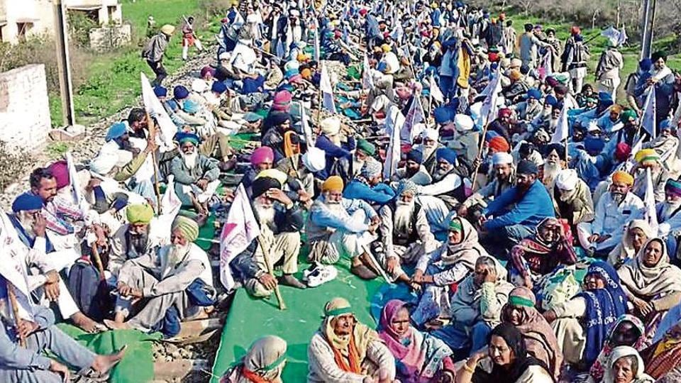 farmers protest in punjab,punjab govt,punajb farmers' protest