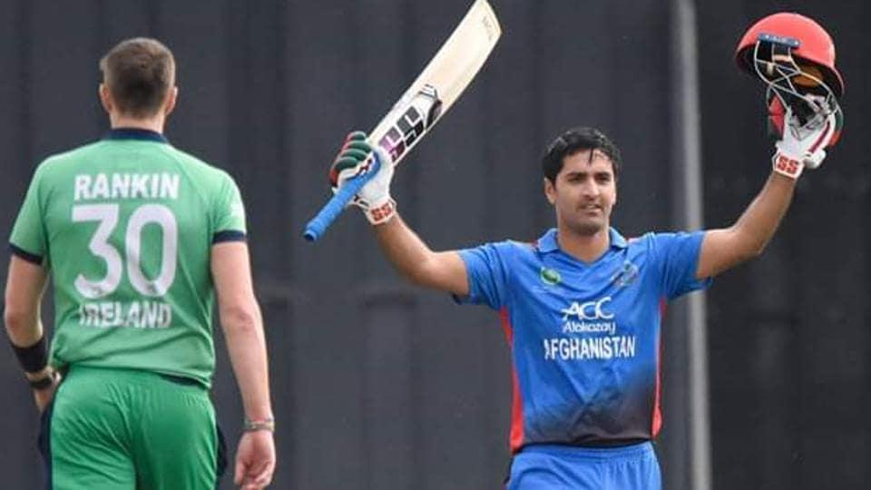 Afghanistan Vs Ireland: Najibullah Zadran Slams Unbeaten
