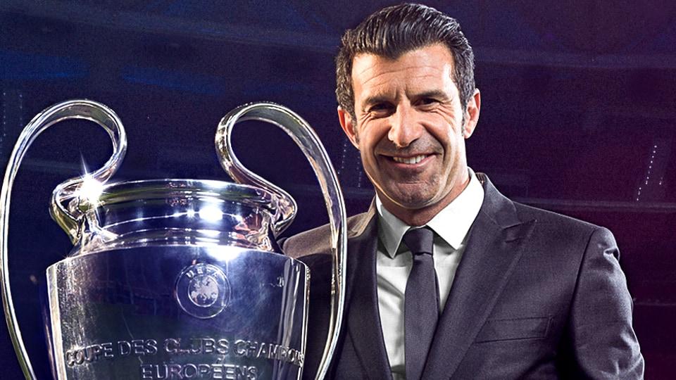 Luis Figo to grace Mumbai with UEFA Champions League Trophy.