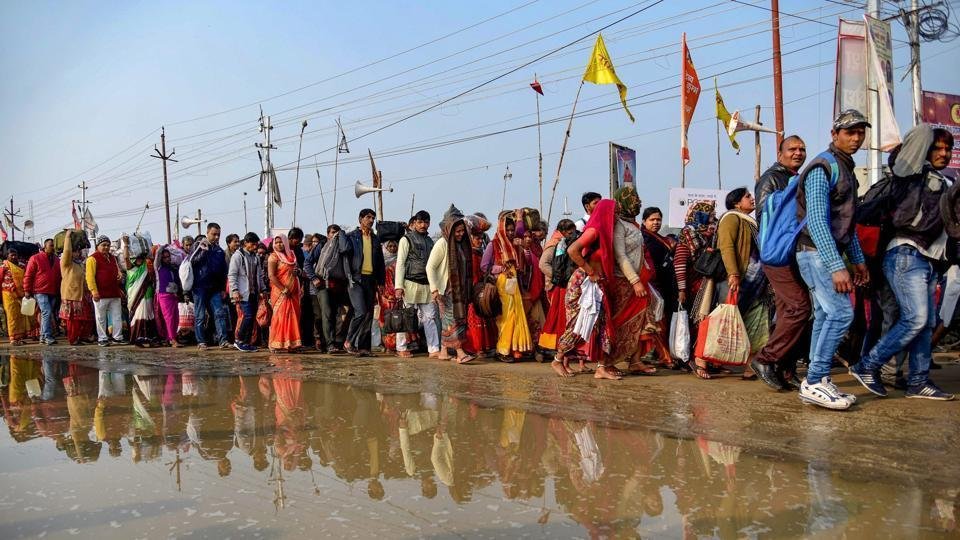 The 49-day Kumbh Mela concluded on Monday with 1.10 crore pilgrims taking a dip in the Sangam on the sixth and last bathing day of Maha Shivratri.