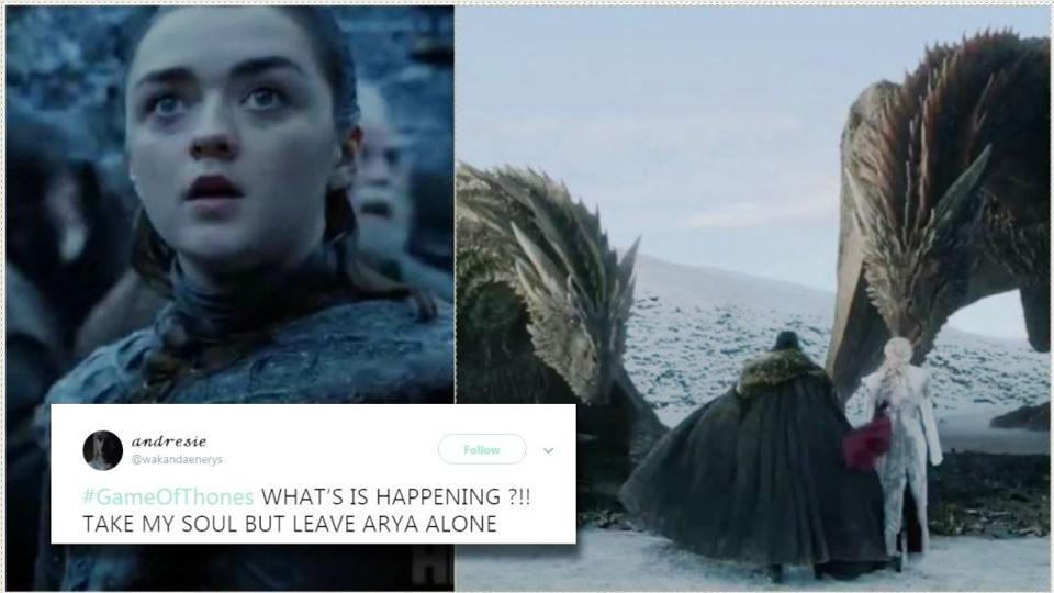 Arya Stark appears to be the fans' favourite character on Game of Thrones.