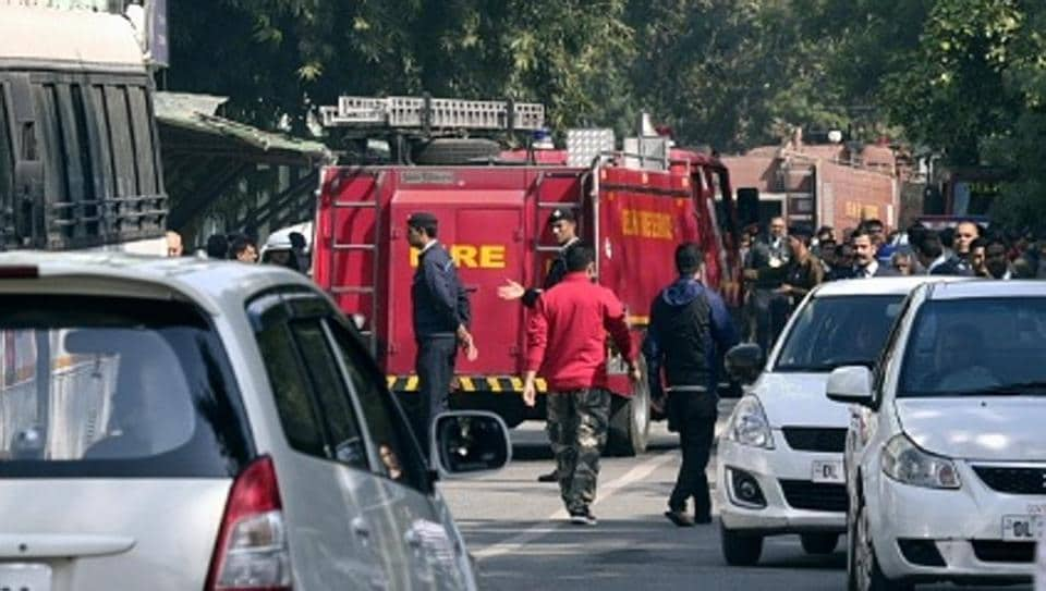 Image result for CISF officer dead in Delhi fire