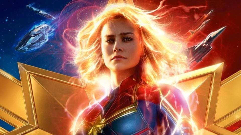 Captain Marvel movie review: Brie Larson brings wit, charm and humour to her performance.