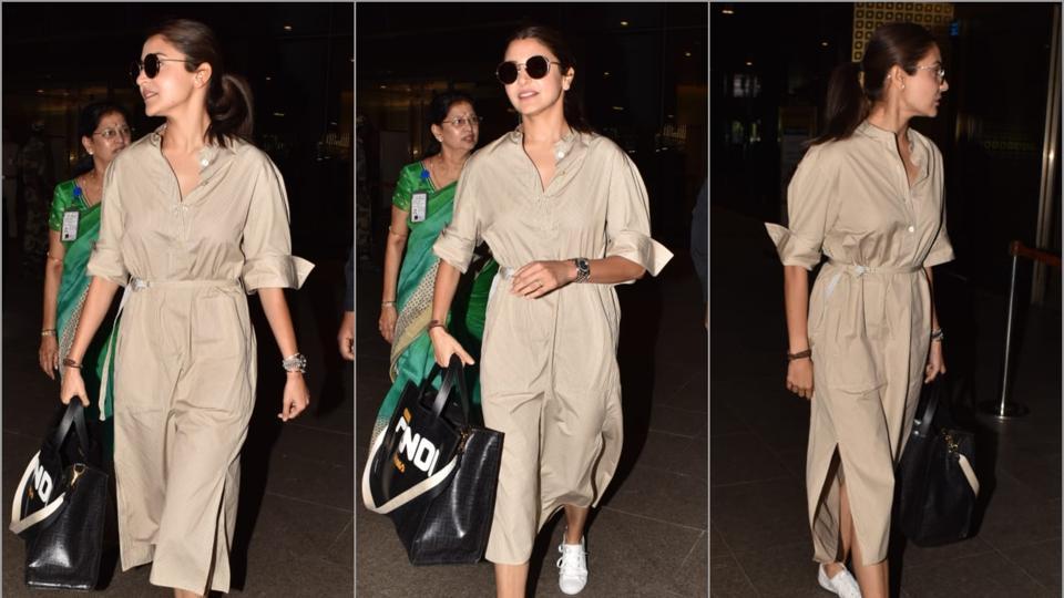 Anushka Sharma,Anushka Sharma Fashion,Airport Fashion