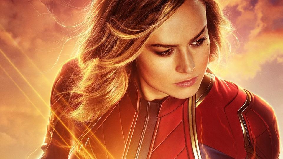 Brie Larson plays Carol Danvers in Captain Marvel.