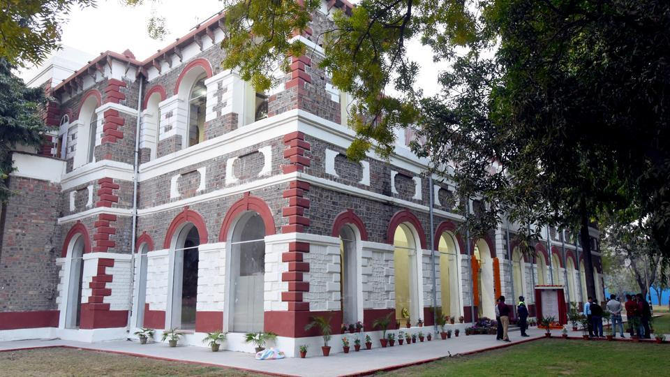 Azaadi Ke Diwane is the fifth in a series of recently inaugurated museums at the Red Fort complex and repurposes a two-storeyed barracks building there that had been lying disused for decades. (Amal KS / HT Photo)