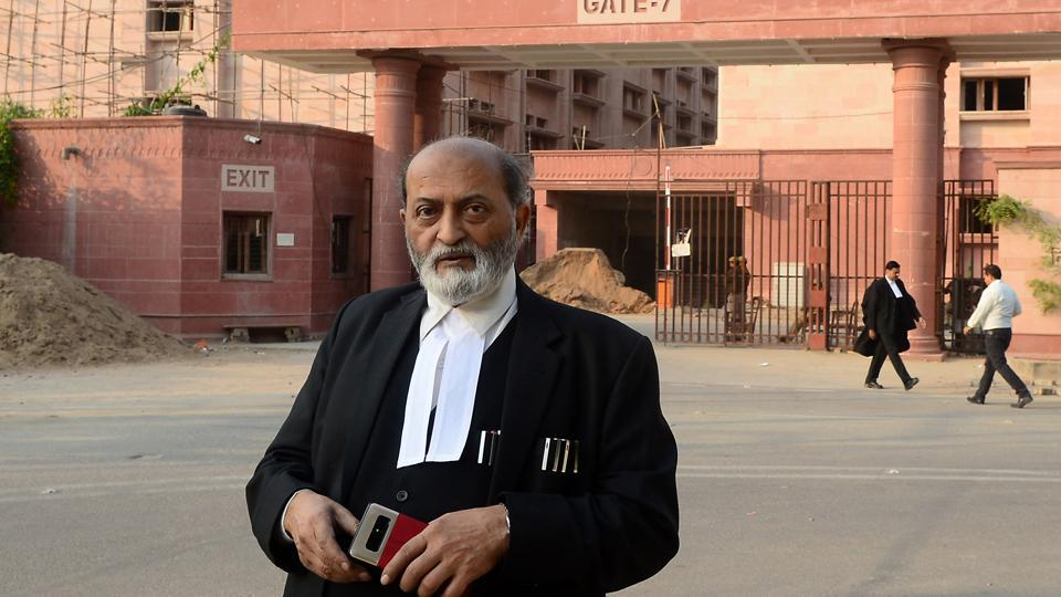 Senior advocate Zafaryab Jilani