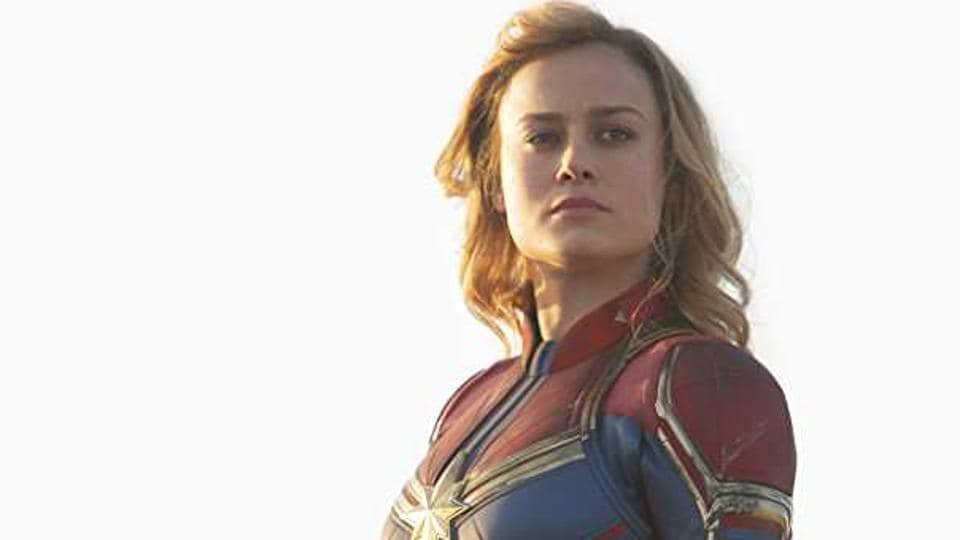 1876031126c Brie Larson as Carol Danvers in a still from Captain Marvel.
