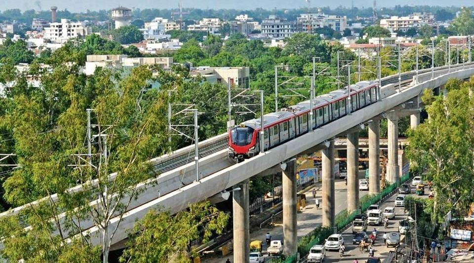 Lucknow will enter the list of elite cities having a Metro network of more than 20 km. Apart from an across-the-Gomti ride, commuters will also travel through an underground tunnel for the first time.
