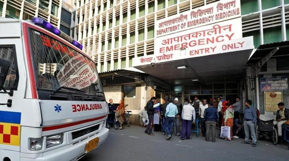 Nearly 20% of patients in accident and trauma cases are rushed to the All India Institute of Medical Sciences (AIIMS) by the police, according to hospital admissions data over the last five years.