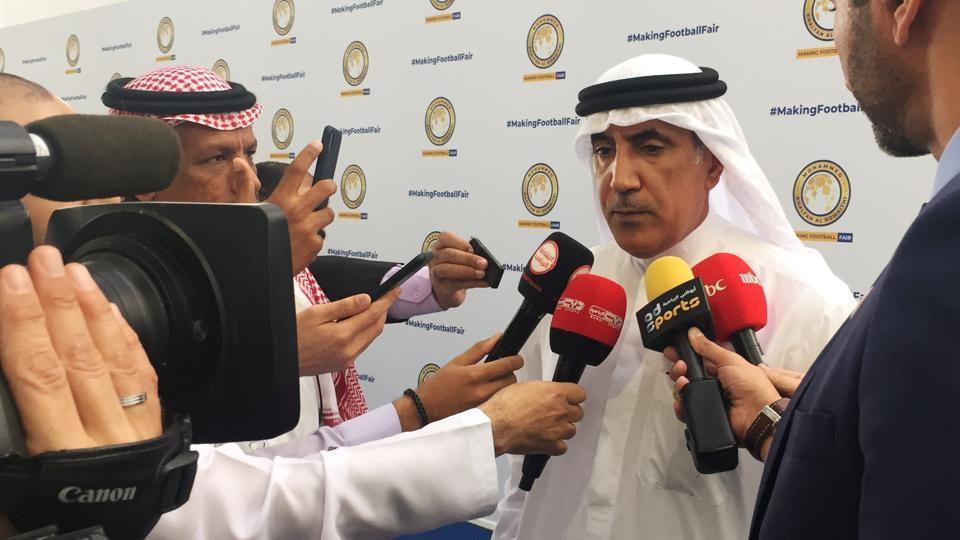 Ex-UAE cop Al Romaithi in fray to head Asian football body