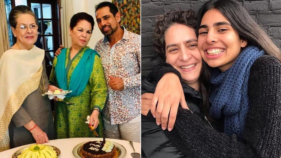 Vadra also shared two photographs: one with his mother-in-law and UPA chairperson Sonia Gandhi and his mother Maureen Vadra around a table and another of Priyanka Gandhi and their daughter Miraya.