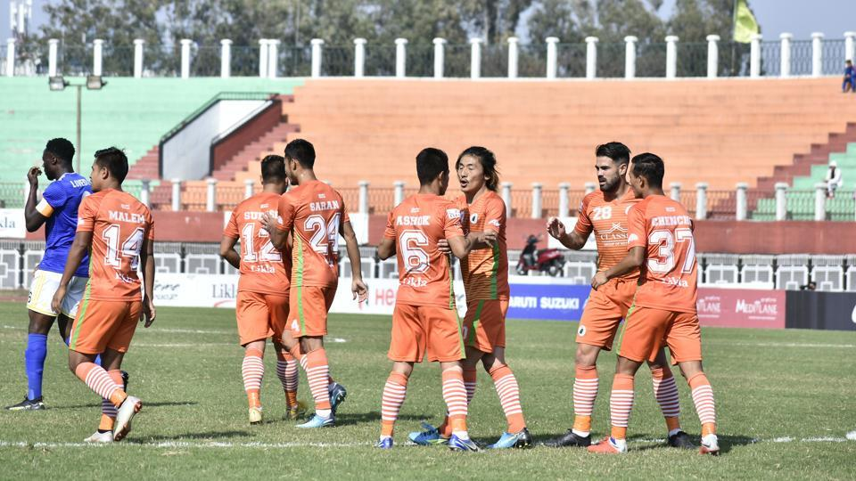 I-League: Farooq's twin strike guides Real Kashmir to 3-2 win over Neroca   football