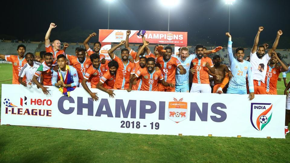 Chennai City FCwon the I-League title after beating Minerva Punjab FCon Saturday.