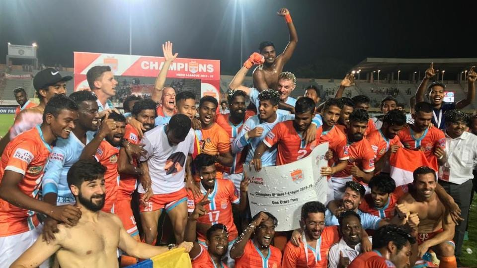 Chennai City FC win maiden I-League title as East Bengal's wait continues | football