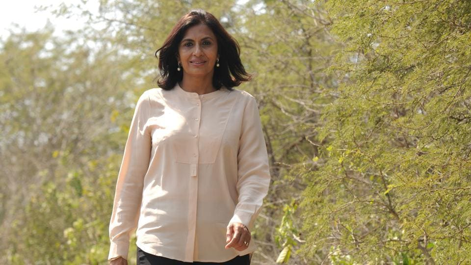 Latika Thukral, the founder of I am Gurgaon, in Gurugram. She helped make the Biodiversity Park into what it is today.