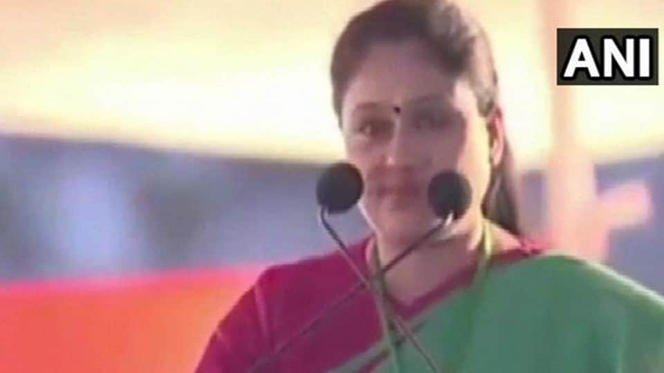 """Congress leader Vijayashanti Saturday hit out at Prime Minister Narendra Modi, alleging he was ruling like a dictator, making people fear """"what bomb he will explode when""""."""