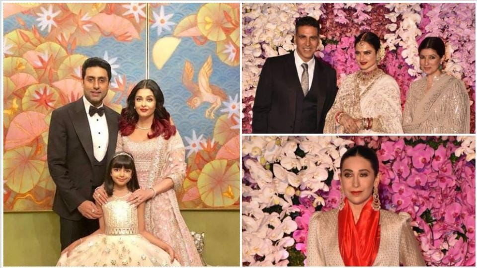 Akash Ambani Shloka Mehta Wedding Reception Highlights Aishwarya