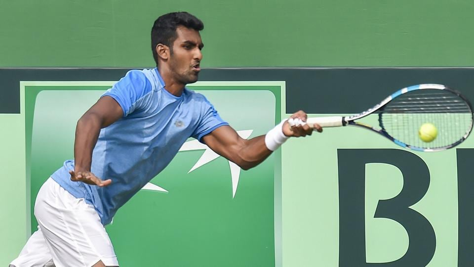 Prajnesh stuns Basilashvili at Indian Wells, Bopanna too advance