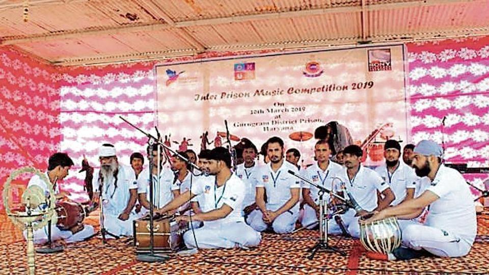 Gurugram jail inmate,inter-jail music contest,Bhondsi Jail