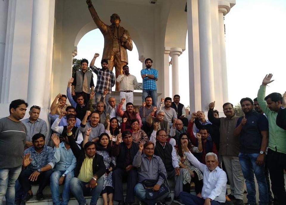 Protest,Lucknow University,Uttar Pradesh