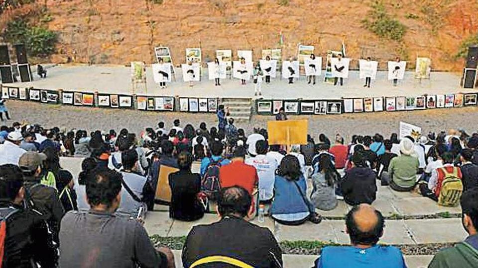 The Municipal Corporation of Gurugram (MCG) is contemplating changing the venue for its upcoming Sufi Nights festival after environmentalists highlighted that the amphitheatre inside Aravalli Biodiversity Park