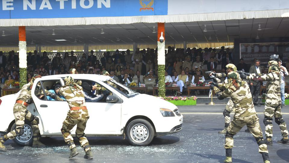 CISF,CISF golden jubilee,VIP rescue and protection