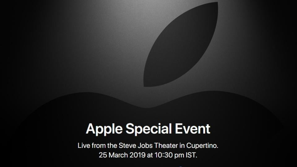 Apple says 'it's show time' March 25, TV service announcement expected
