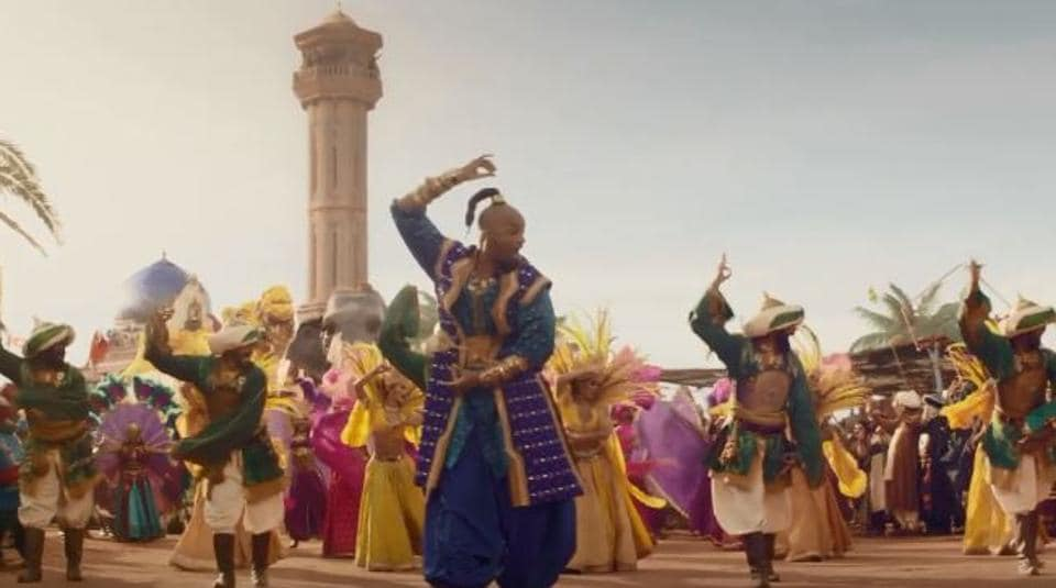 New Hindi Movei 2018 2019 Bolliwood: Aladdin New Trailer: Will Smith Ditches The Blues For A