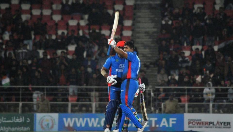 File image of Afghan batsman Hazratullah Zazai
