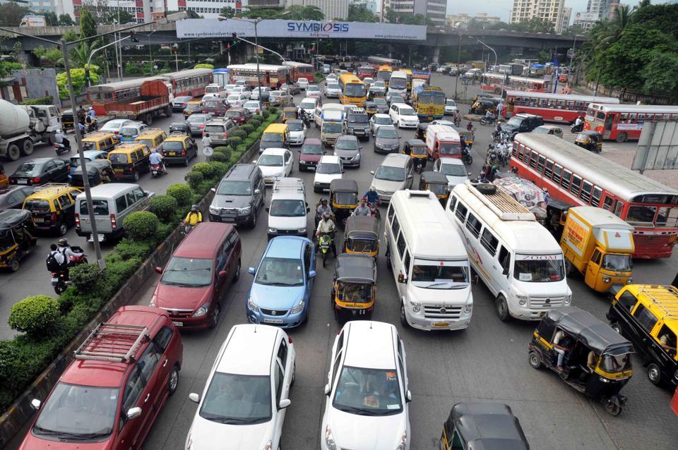 The Kalanagar junction at Bandra