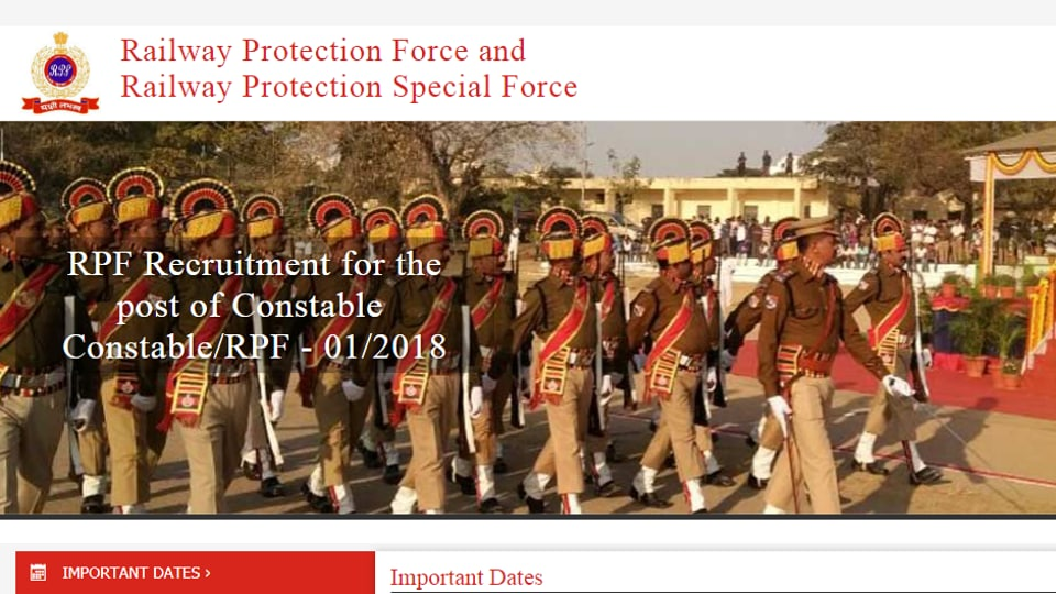 RPF Constable Group C, D written exam results declared today
